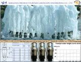 Сопло двигателя гейзера в нержавеющей стали
