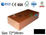 100*10mm WPC Main courante et clôture avec ce & certificat FSC