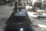 De in het groot Super Straal absoluut Zwarte Zwarte Grafstenen van het Monument van het Graniet Hebei