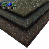 EPDMのゴム製微粒の屋内体操のゴム製床タイル