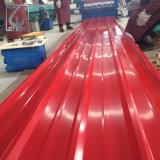 Pre-Painted PPGIはSMPによって塗られたコーティングが付いている波形の鋼鉄タイルに電流を通した