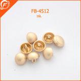 Garments를 위한 금속 Gold Shank Button