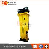 Leiser Typ hydraulischer Exkavator-Hammer mit Meißel 140mm