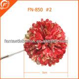 Flora de Satin insignia de solapa para adaptarse a la decoración
