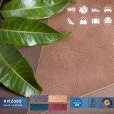 Jean-padrão de tecido de couro de PVC para sofá a mala e decoração