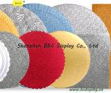 Placas de bolas quadradas redondas e de forma diferente com placas de bolo quadrado com SGS (B & C-K003)