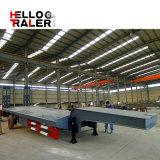 Горячая продавая 3 линия 6 трейлер Helloo трейлера кровати Axle низкий Semi
