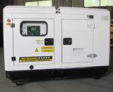 conjunto de generador diesel silencioso de potencia de 64kw/80kVA Cummins