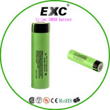 Alta batteria di litio della batteria 18650 di scarico per la torcia elettrica