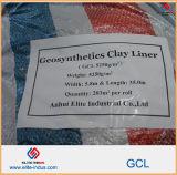 con la tri fodera dell'argilla di Gcl Geosynthetic del certificato di controllo