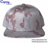 El patrón de impresión personalizadas Hat estilo llano tapa Snapback