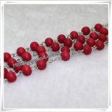 宗教木のビード数珠、カトリック教徒は玉を付ける数珠(IOcr338)に