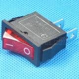 Красное Button 16A Rocker Switch 250V T125