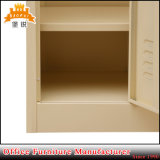 Jas-026 China fez o fabrico de metal de 3 portas móveis de quarto guarda-roupa de aço