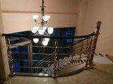 de la plus défunte mode de la balustrade acrylique d'escalier de fléau