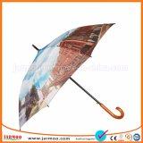 Pour la vente de publicité de l'événement sportif coloré Parapluie de golf