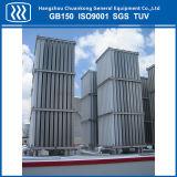 高圧液化天然ガスLPGの液体酸素窒素のアルゴンの蒸発器