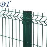 Comitati rivestiti della rete fissa del giardino 3D del PVC di alta qualità