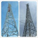 de 30m Gegalvaniseerde Toren van het Rooster van de Antenne van de Telecommunicatie van het Staal van de Hoek