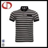 Mode de haute qualité pour hommes chemises polo à rayures 2016