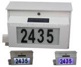 Powder Coating FinishのFq195 2 Metal Solar Mailbox