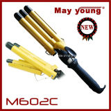 M602c Professional Tourmaline Triple Barrels Ampola De Cabelo Light