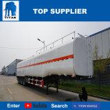 Petroliera del titano per trasportare diesel 4000 litri del combustibile di rimorchio dell'autocisterna da vendere