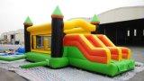 Sale chaud Lovely Inflatable Castle plein d'entrain avec Slide à vendre