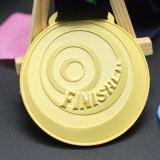 Бесплатные образцы пользовательских тиснение (emboss) Металлические работает медали в сувенирный магазин подарков