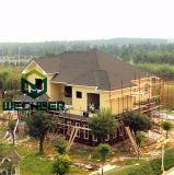 Construção de aço clara Lgs que constrói a casa verde para a prova do terremoto