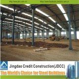 Qualitäts-große Stahlkonstruktion-vorfabrizierte Werkstatt