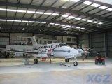 호주에 있는 Prefabricated 강철 구조물 항공기 격납고