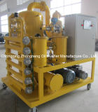 Double étage Purificateur d'huile insultant au vide, Station de traitement diélectrique de l'huile