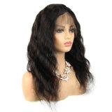 Corps de couleur naturelle des cheveux d'onde Full Lace Wig