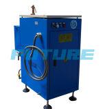 Piccola caldaia a vapore che genera elettricità