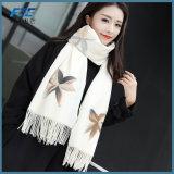 Baumwollschal-Frauen-Silk Schal-Herbst-Winter-Schal