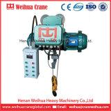 La DM tapent l'élévateur électrique de câble métallique