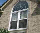 Haus verwendetes Puder-überzogenes Aluminiumfenster für Flügelfenster-Fenster