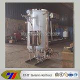 Tipo esterilizador de la bobina de la pipa de Uht con la calefacción de vapor