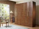 Ritz Schlafzimmer-Möbel-Schiebetür-Kaffee-Farben-festes Holz-Garderobe