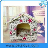 Casa de cão quente da venda por atacado da fábrica da base do gato do animal de estimação da venda