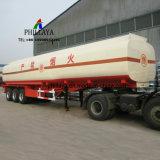 半石油燃料ガソリン液体のタンカー輸送タンクトラックのトレーラー