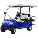 Batteriebetriebenes Auto-Golf-Auto mit 2+2 Seater dem Blau