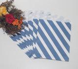 Polka Dot partie métallique en faveur des sacs en papier de bonbons