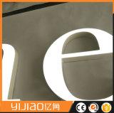 LED impermeável ao ar livre para sinalização de Aço Inoxidável