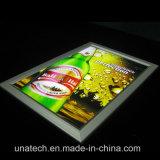 表示印のボードの細いライトボックスを広告するセリウムの品質のレストランLED