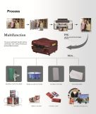 De grafische Printer van de Pers van de Hitte van de Sublimatie van de Winkel Automatische 3D Vacuüm voor de Juwelen van het Kristal