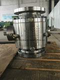 ASTM A182 F51 schmiedete Drehzapfen-Kugelventil