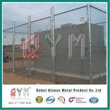 Le vinyle a enduit la frontière de sécurité galvanisée par tissu de maillon de chaîne lourde de maillon de chaîne