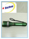 Lanterna elétrica recarregável Zoomable Brightest Multifunction Torch